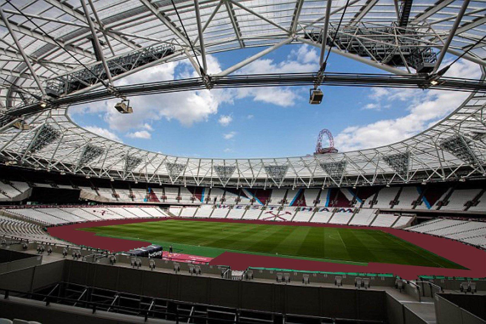 West Ham to Carpet London Stadium Claret | Claretandhugh