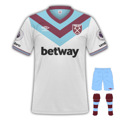 new product e96a0 7b2a7 Away kit launch date revealed | Claretandhugh
