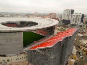 Russia copies London Stadium seating idea | Claretandhugh