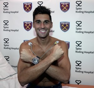 West Ham United Unveil New Signing XXX