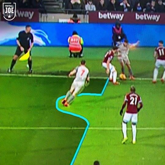 An Own Goal And Glaring Misses: PIC: Liverpool Goal 'miles' Offside
